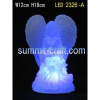 Wholesale polyresin figurine of Angell LED 2326-A from china suppliers