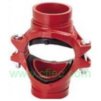 Buy cheap Fire fighting grooved fittings  Cross, Mechanical Grooved from wholesalers