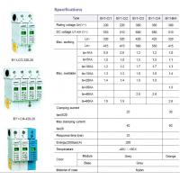 Buy cheap MCB And RCD Series BY1-C Series Surge Proctect Device For Power Distribution System from wholesalers