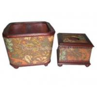 Wholesale Wooden Boxes Tissue Box Model No:GTB09-011 from china suppliers