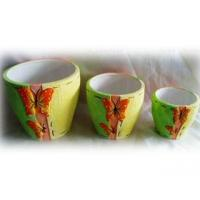 Buy cheap Butterfly Design Terra Cotta Butterfly Flower Pot from wholesalers