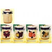 Wholesale Ceramic Canister Set Ceramic 4-pc Canister Set from china suppliers