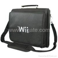 Buy cheap Wii Game Console Controller Nunchuck Carry Bag - Black from wholesalers