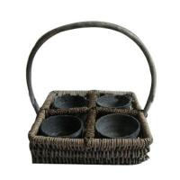 Buy cheap willow flower baskets EX1007004 from wholesalers