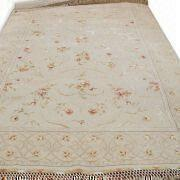 Wholesale Hand Knotted Carpet in Flower Design, Made of Wool Fine Yarn from china suppliers