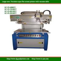 Wholesale Precision Vacuum table Flat screen printer from china suppliers