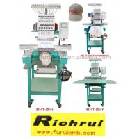 Buy cheap Single head Cap/Tubular/Flat embroidery machine from wholesalers