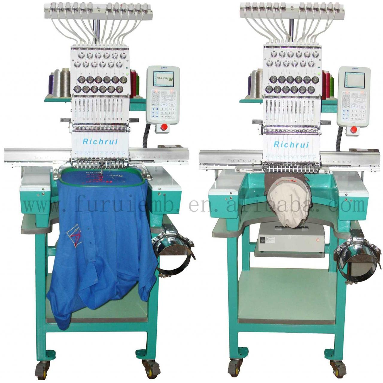 Buy cheap Single Head Cap/Tubular embroidery machine from wholesalers