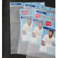 Buy cheap Zip-lock Polybags with Card-Header from wholesalers