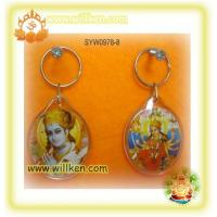 Buy cheap SYW0978-8 Key chain with hindu god photo from wholesalers