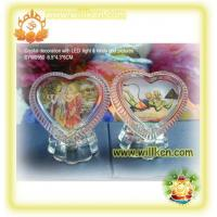Buy cheap SYW0950 Crystal gifts with hindu god photo & LED light from wholesalers
