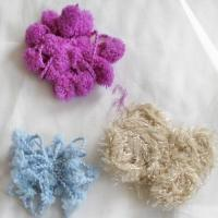Special purpose fancy yarn Polyester flower color