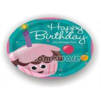 Wholesale Birthday series YRPP2003 Printed paper plate from china suppliers