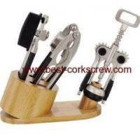 Wholesale kitchen ware Sets wooden stand from china suppliers