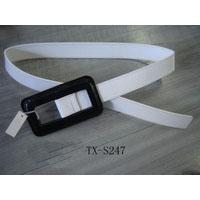 Buy cheap Women White Leather Belt - TX-S247 from wholesalers