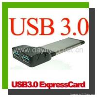 Buy cheap New products SuperSpeed USB3.0 2Ports PCMCIA Express Card from wholesalers