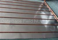 Buy cheap Flat plate solar collector with G type copper tube from wholesalers