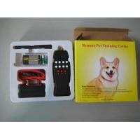 Buy cheap Remote Electric Shock Dog Training Collar Anti Bark 8LV from wholesalers