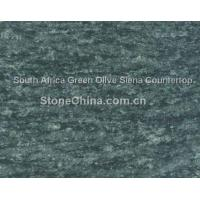 Buy cheap South Africa Green Olive Siena Countertop from wholesalers