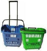 Wholesale Mobile Trolley Baskets With Casters from china suppliers