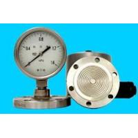 Wholesale pressure instrument The welding flange divide pressure gauge from china suppliers