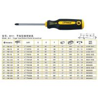 8011 + Type Finger Type Rubber-plastic Screwdriver