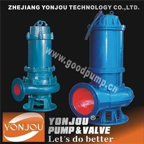 QW High Efficiency Non-stop Submersible Sewage Pump