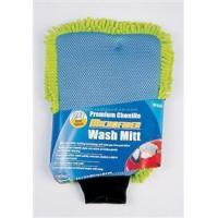 Buy cheap Cleaning Products 2 in 1 Wash Mitt, Microfiber Wash Mitt from wholesalers