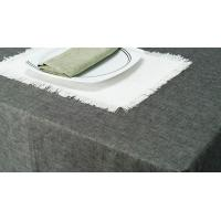 Table Cloth Cotton Hemp Blended Textile