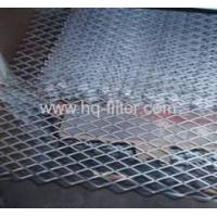 Buy cheap Expanded Metal Fences Flatten Expanded Metal Mesh from wholesalers