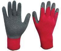 21s latex coated safety glove