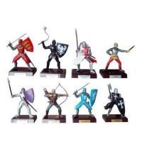Wholesale Mini Plastic Doll and Figurine English Medieval Warriors from china suppliers
