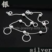 Buy cheap Sterling Silver Charms Bracelets from wholesalers