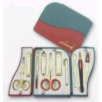 Various Gray Leather Packed Beauty Tools Set Manufactures