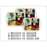 Wholesale TRAY WITH HANDLE Item No:MT51018set3-18 from china suppliers