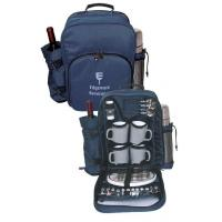 Wholesale Travel 4person Picnic Backpack Coffee/Wine set with 1 Litre vacuum flask from china suppliers