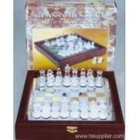 Wholesale Sports&Games Glass Chess Set from china suppliers