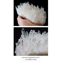 Wholesale Wholesale Natural Rock Quartz Cluster, A Grade, per kg from china suppliers