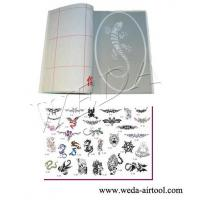 Wholesale Airbrush Tattoo Stencil and Ink 5 from china suppliers