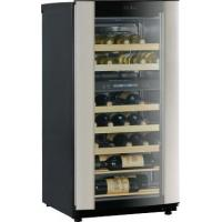 Buy cheap 40-Bottle Capacity Wine Cellar - Dual Storage Compartment with Glide Out Racks from wholesalers