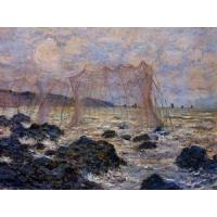Impressionist(3830) Fishing_Nets_at_Pourville Manufactures