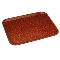 Rectangular Tray D#24 Relievo Red Manufactures