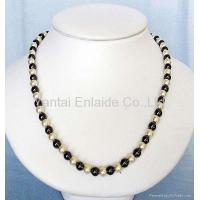 Buy cheap Hematite Magnetic Jewelry Magnetic Hematite Pearl Beads Necklace from wholesalers