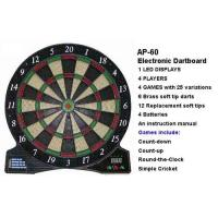 AB Products KD3001 Electronic Dartboard AP-60 Manufactures