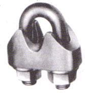 Buy cheap RIGGING DIN 1142 GAL. MALLEABLE WIRE ROPE CLIPS from wholesalers