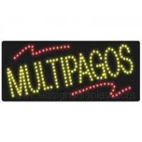 M SERIES SIGNS Products LEDMULTIPAGOSSign LEDMULTIPAGOSsign Number:HSM0006LEDMULTIPAGOSSign Size:685X280X25mm;27