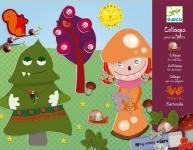 Wholesale Djeco Children's Monsters Collage Craft Kit from china suppliers