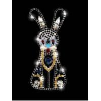 Brooches Blue Rabbit Model :BH-0077