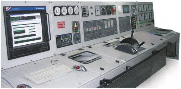 Engine room control monitoring console engine room for Monitoring consul