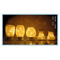 Buy cheap white porcelain electric oil burner from wholesalers